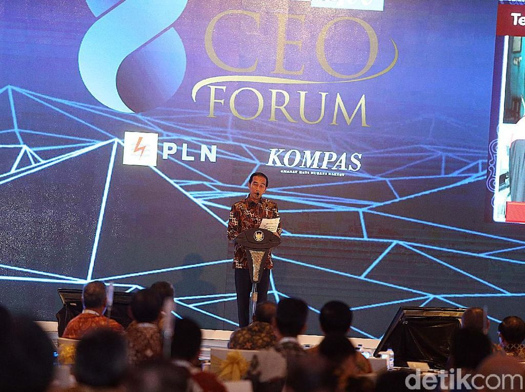 Jokowi Buka 100 CEO Forum