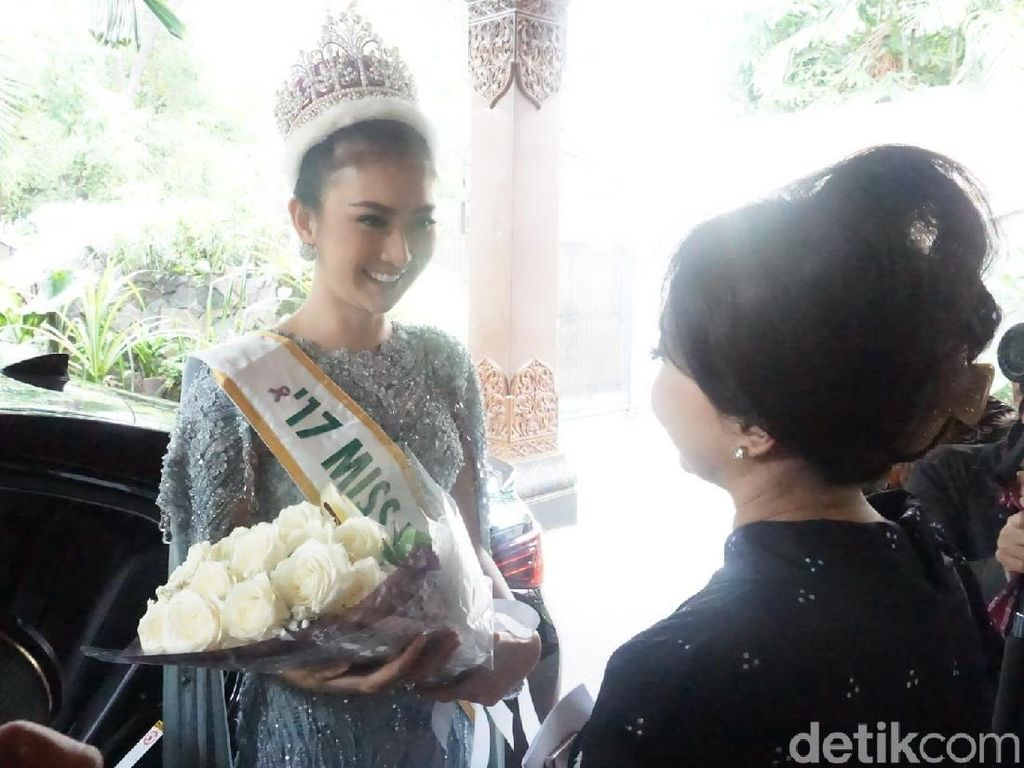 Foto: Welcome Home Kevin Lilliana, Juara Miss International 2017!