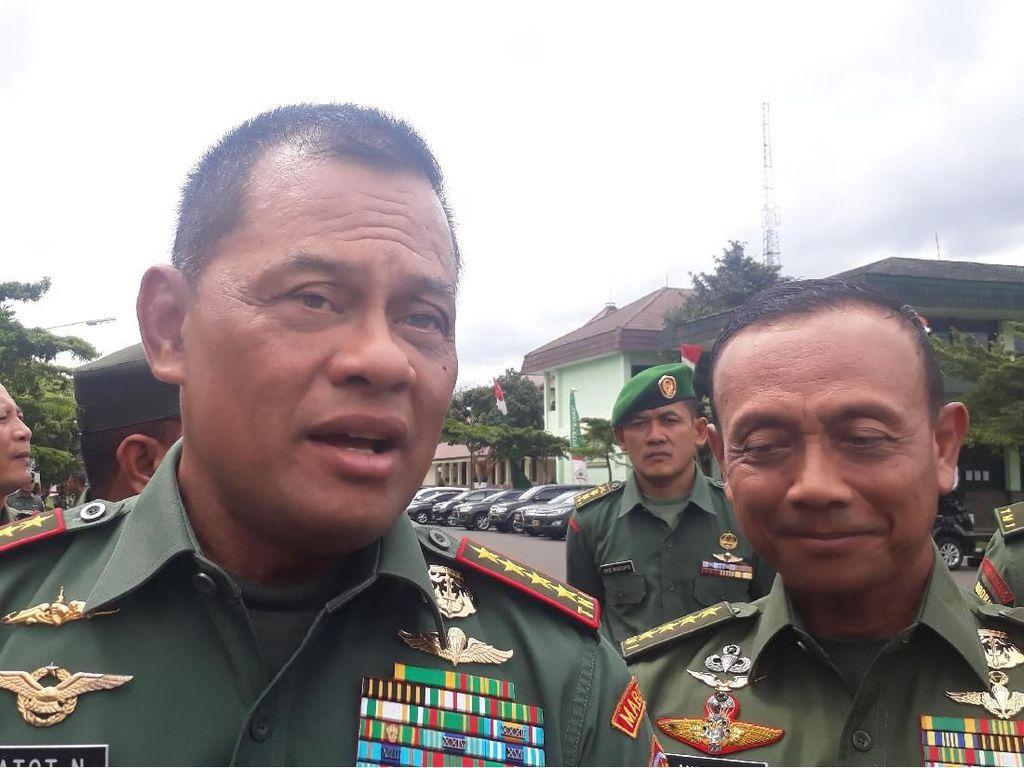 Jenderal Gatot: Saya Bersyukur Presiden Temukan Pengganti Saya