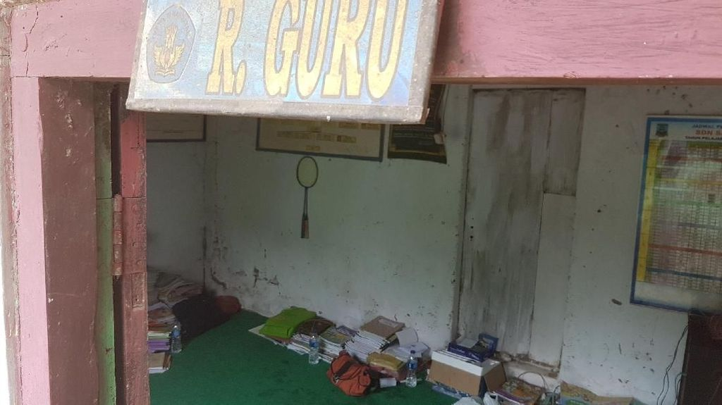 Foto: Melihat SD Negeri di Banten Bekas Kandang Kerbau