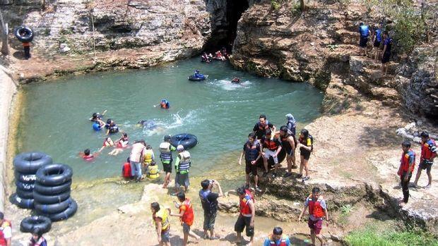 Banyak gua di Gunungkidul yang jadi destinasi wisata