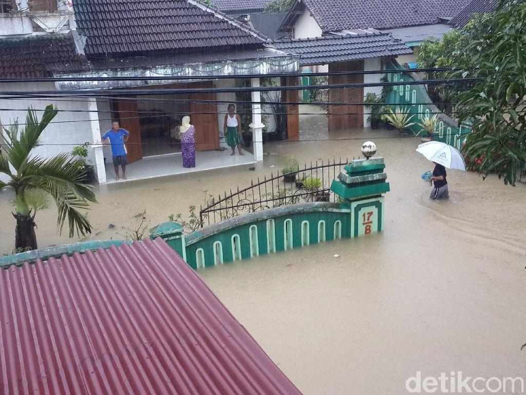 Hujan Masih Berpotensi Turun di Daerah Banjir, Durasi Berkurang