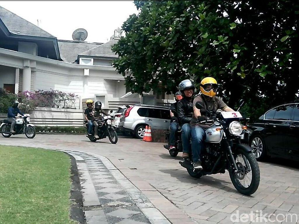 Kawasaki Yakin Motor Retro Banyak Peminatnya