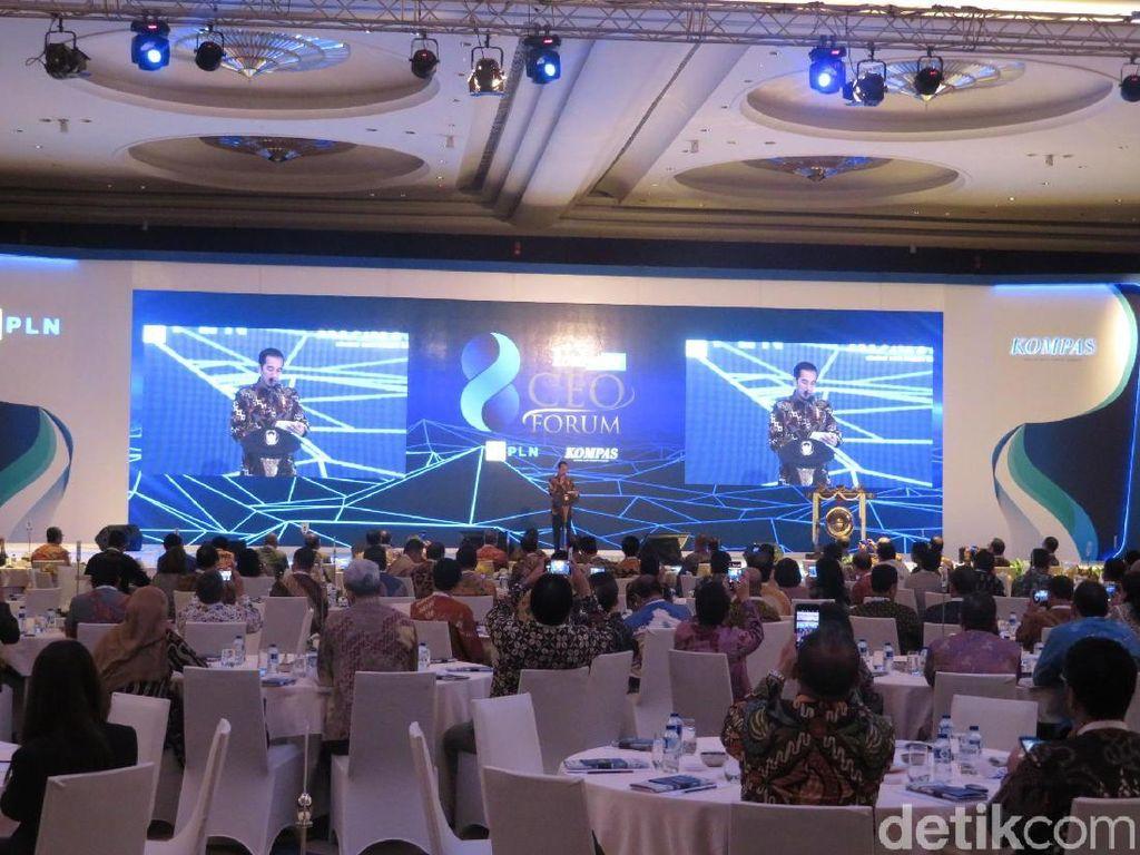 Bantah Daya Beli Lesu, Jokowi: Konsumsi Hotel dan Restoran Naik 5,87%