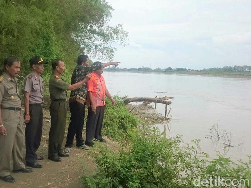 Debit Air Sungai Bengawan Solo Naik, Warga Lamongan Diimbau Waspada