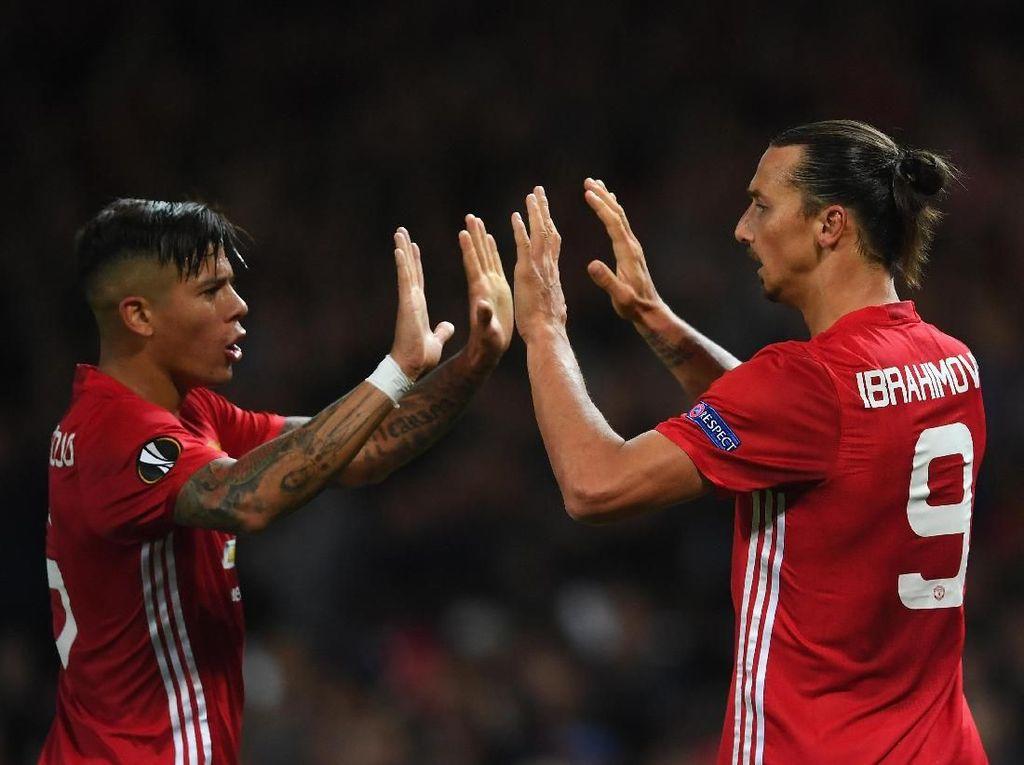 Mourinho Ngeri Lihat Kerasnya Duel Rojo-Ibra di Sesi Latihan