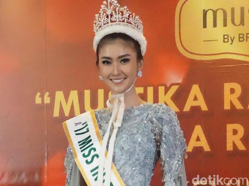 Kevin Lilliana Sempat Risih Pakai Swimsuit di Miss International 2017