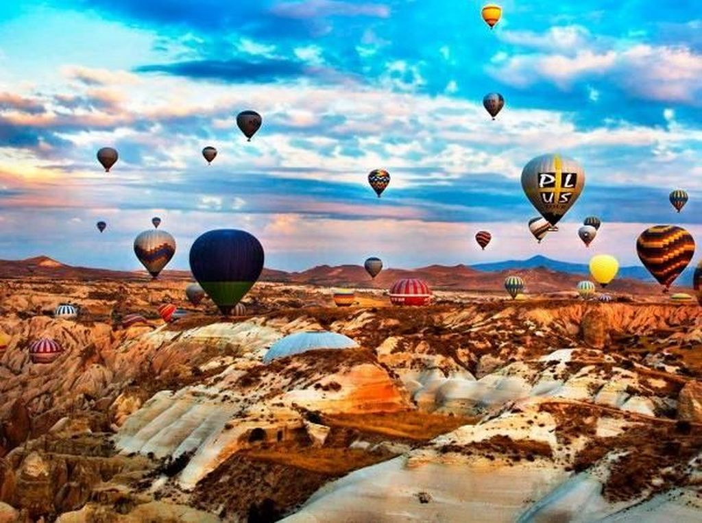 Keindahan Cappadocia yang Disebut dalam Kisah #LayanganPutus