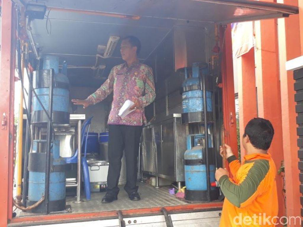 BPBD Pasuruan Kirim Mobil Dapur Lapangan untuk Banjir Sidoarjo