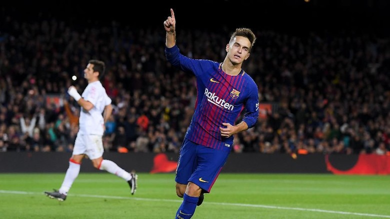 Pesta Barcelona Tanpa Messi dan Suarez