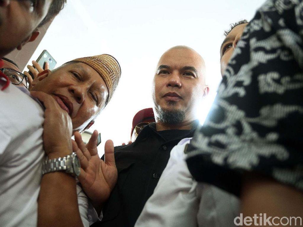Ahmad Dhani Jalani Pemeriksaan Kasus Ujaran Kebencian