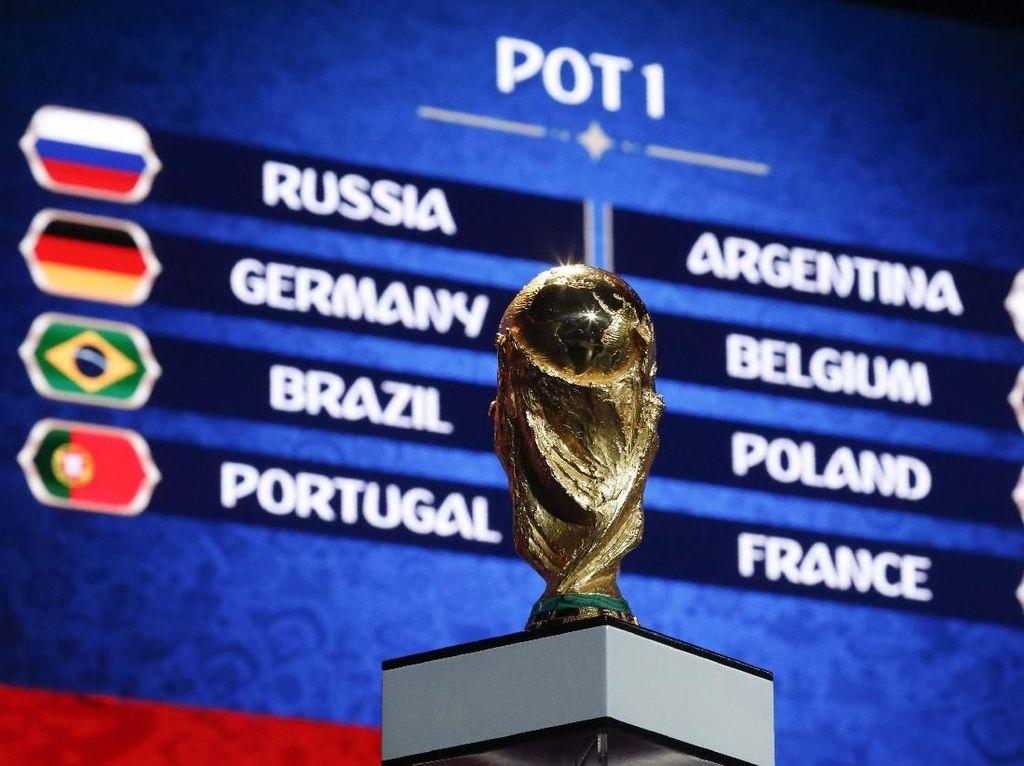 Berharap Drawing Pertemukan Argentina dan Inggris