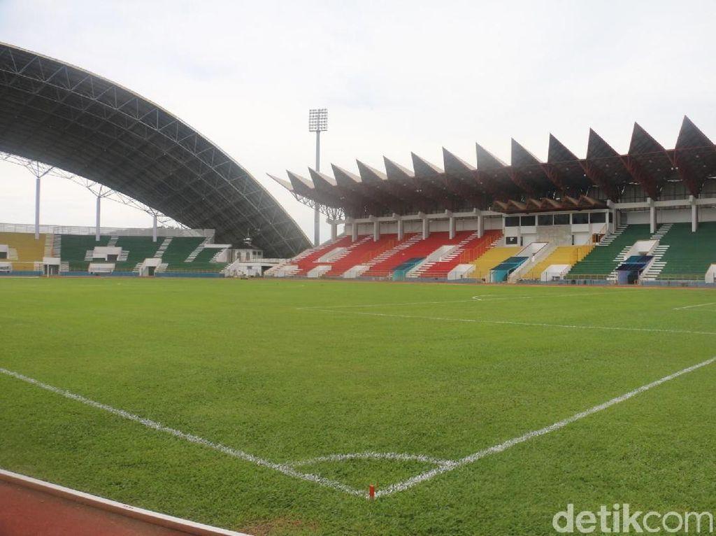 Foto: Apiknya Stadion Harapan Bangsa Usai Bersolek
