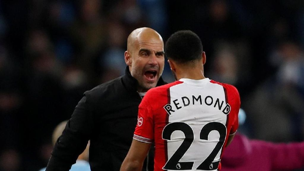 Usai Laga, Guardiola Marahi Pemain Southampton