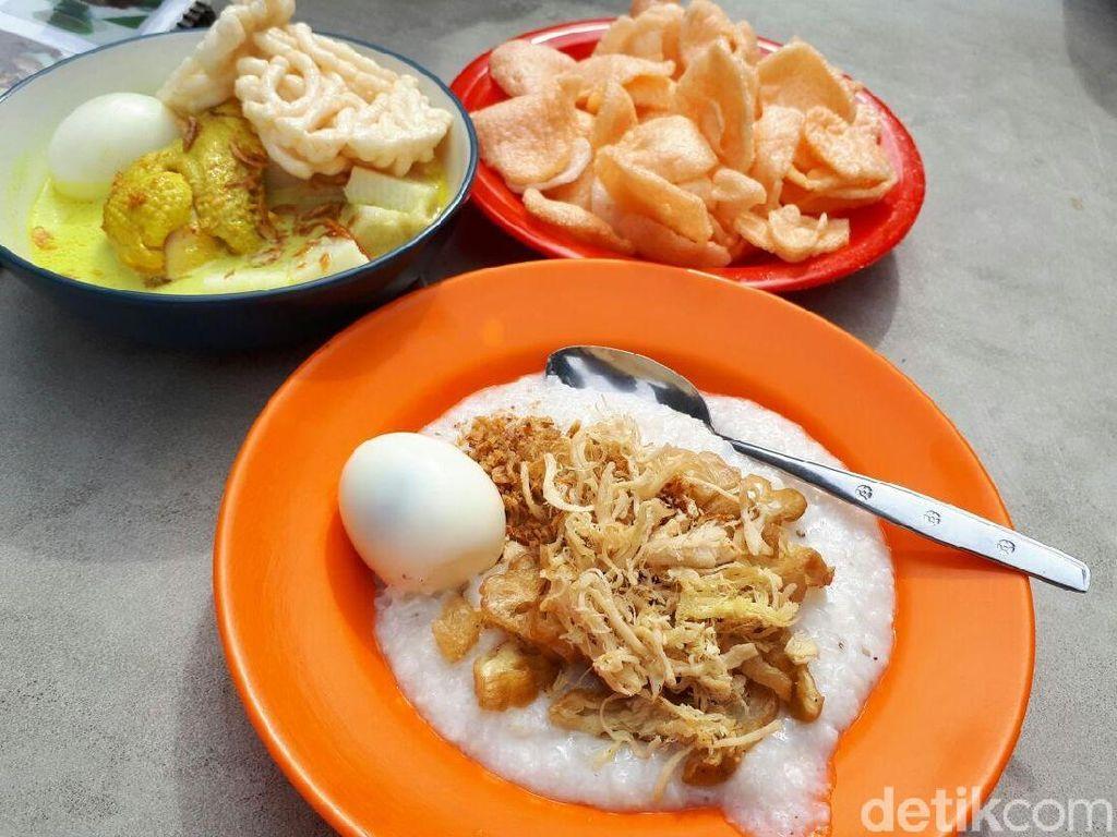 Mang H. Oyo: Gurih Kental Bubur Ayam Cakwe yang Terkenal Sejak 1970