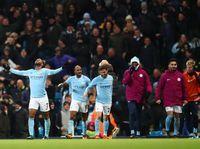 Aksi Nekat Mendy demi Rayakan Gol Kemenangan City