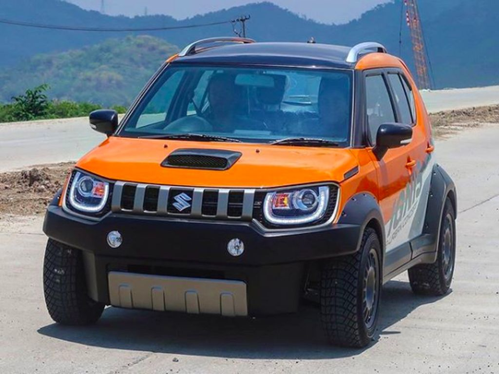 Suzuki Ignis ala Semi Off-Road