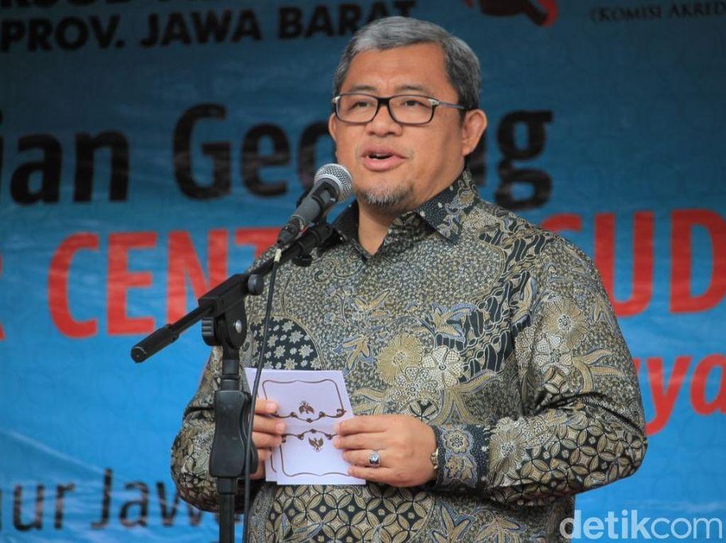 Ahmad Heryawan Jadi Khatib Salat Idul Fitri di Lapangan Gasibu