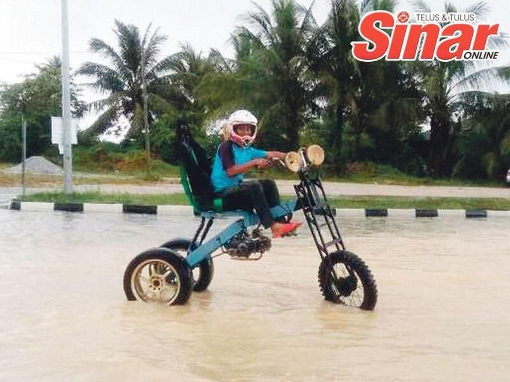 Motor Jangkung Antibanjir