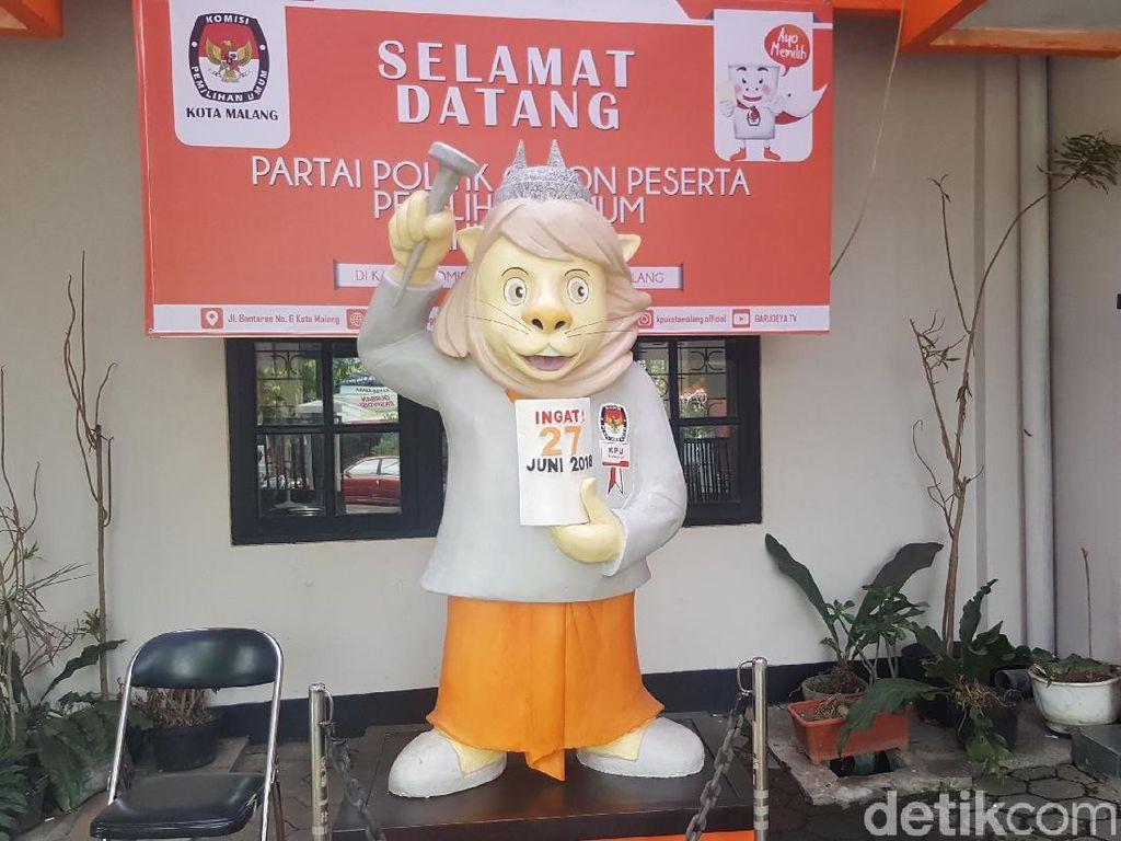 KPU Jadwalkan Sortir Surat Suara Pilwali Malang 2018