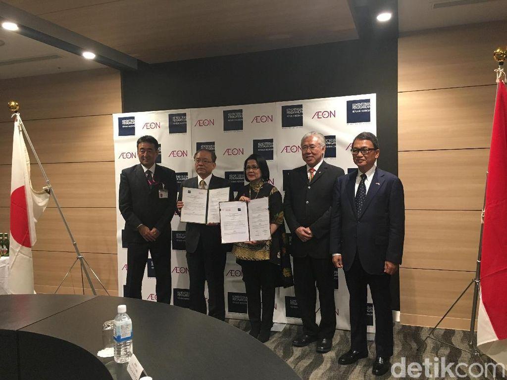 Aeon Bakal Promosikan Produk Indonesia di Jepang