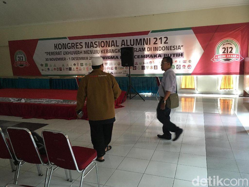 Begini Persiapan Kongres Alumni 212 di Wisma PHI