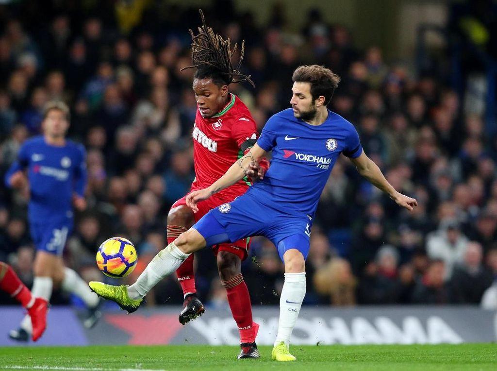 Chelsea vs Swansea Sementara Masih Imbang Tanpa Gol