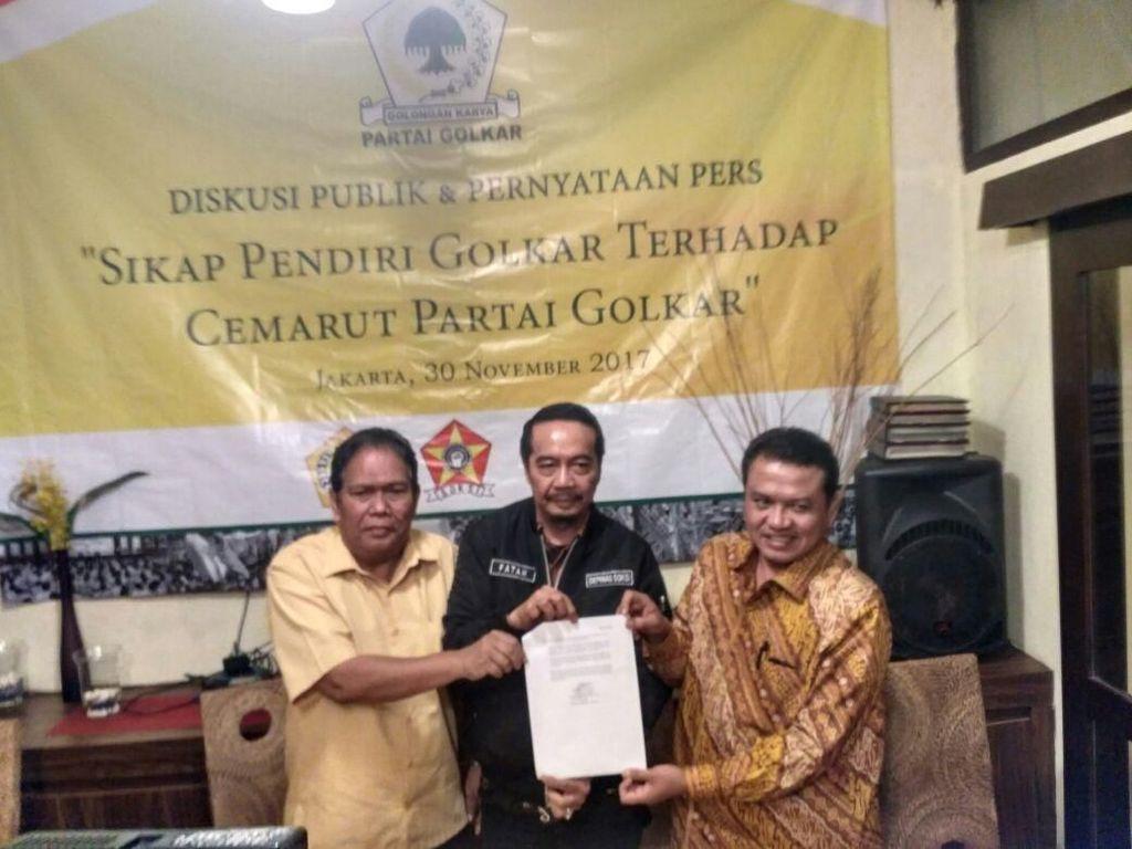 Desak Munaslub, 3 Organisasi Pendiri Golkar Ancam Mosi Tak Percaya