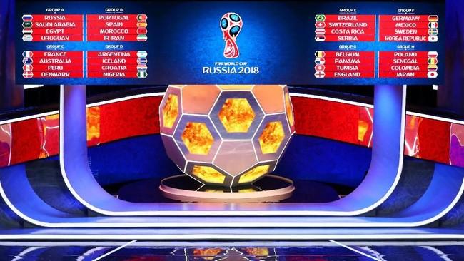 Grup-grup Piala Dunia 2018, mana yang terberat? (Foto: Kai Pfaffenbach/Reuters)
