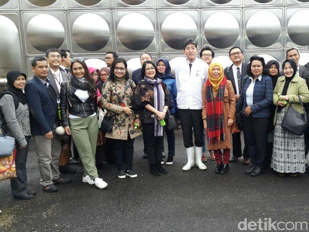 21 Pengusaha RI Kunjungi Pabrik Soy Sauce di Jepang