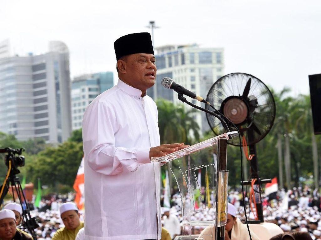 Metamorfosis Jawaban Jenderal Gatot Soal Jadi Capres 2019