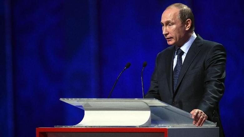 Vladimir Putin Akan Pantau Langsung Drawing Piala Dunia 2018