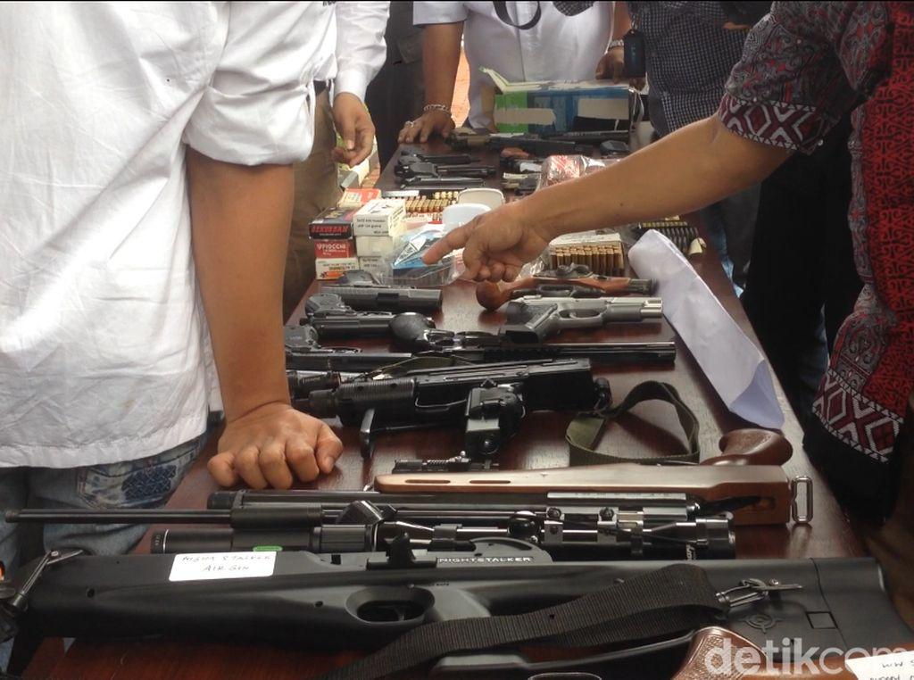 Pemasok Senjata ke Dokter Helmi Bisa Modif Airsoft Gun Jadi Senpi