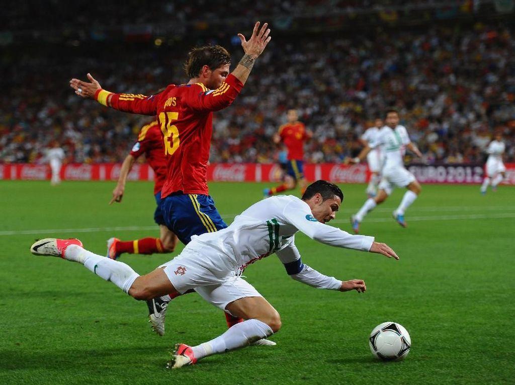 Timnas Spanyol Itu Momok untuk Ronaldo