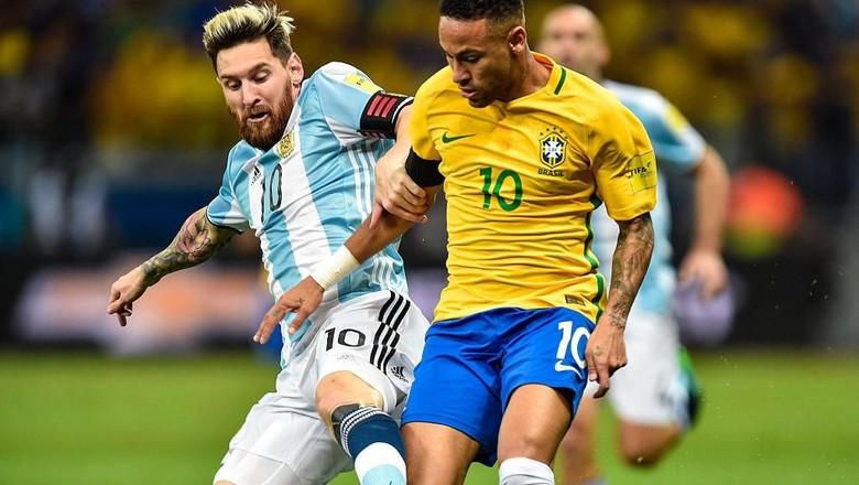 Tentang Peluang Neymar vs Messi di Final Piala Dunia 2018