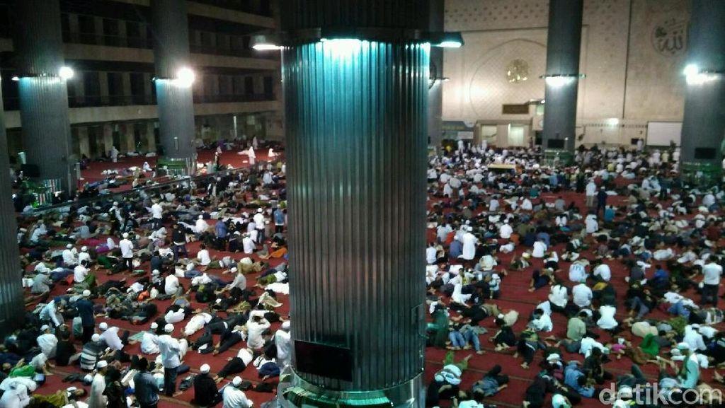 Begini Suasana di Masjid Istiqlal Jelang Reuni 212