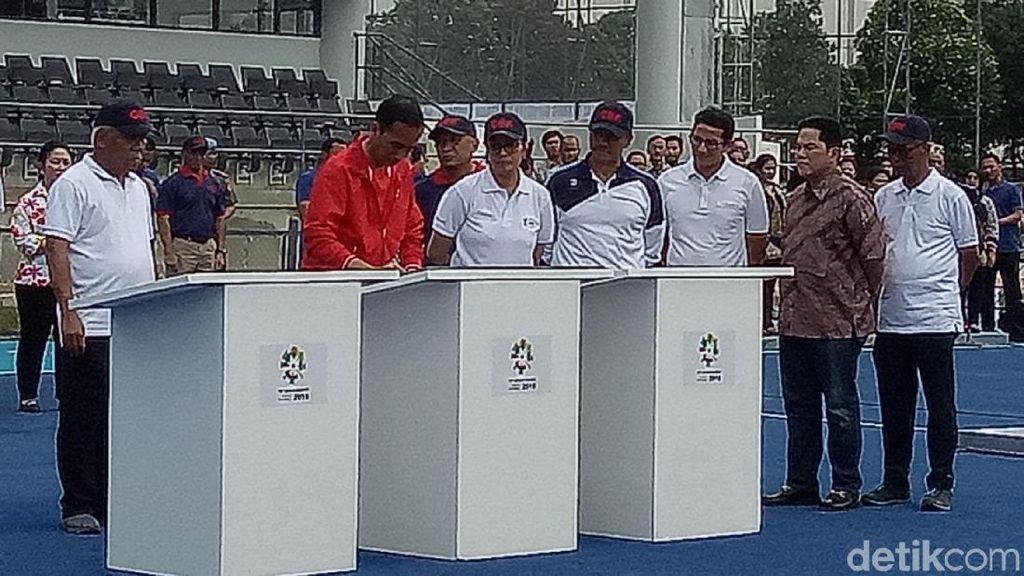 Presiden Jokowi Resmikan Empat Venue Asian Games di Kawasan GBK