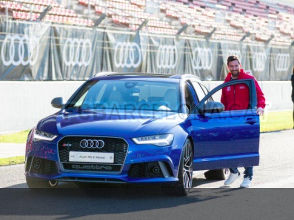 Mobil Baru untuk Lionel Messi dkk