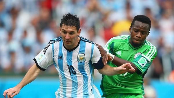 Argentina vs Nigeria: 7 Piala Dunia, 5 Kali Berduel