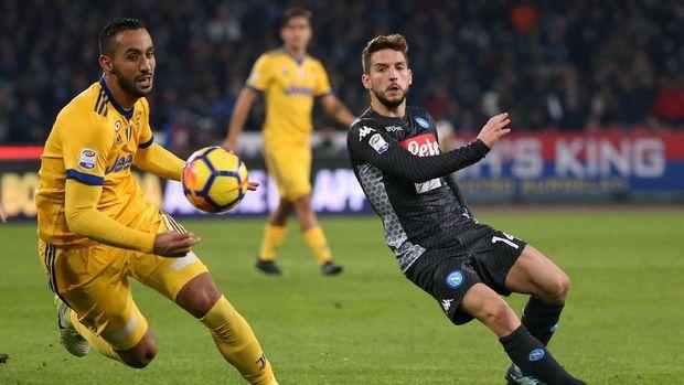 Napoli Ditumbangkan Juve di San Paolo
