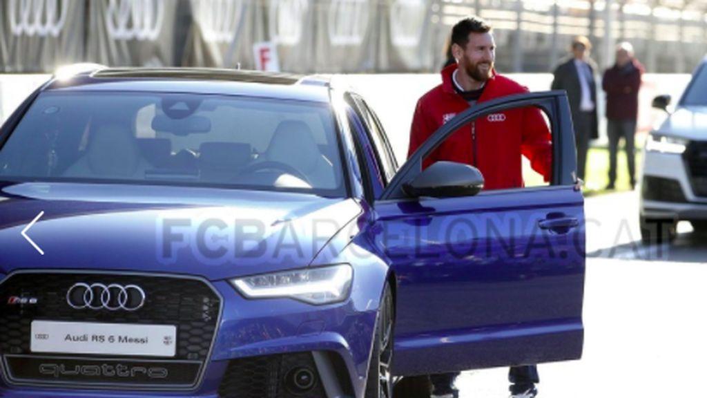 Seperti Real Madrid, Pemain Barcelona Juga Dapat Mobil Baru