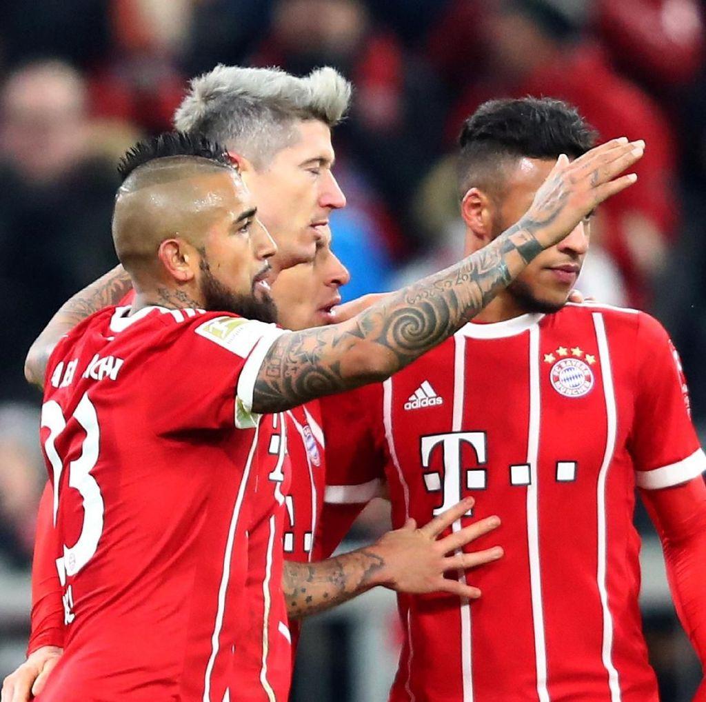 Tekuk Hannover, Bayern Kokohkan Posisi di Puncak Klasemen