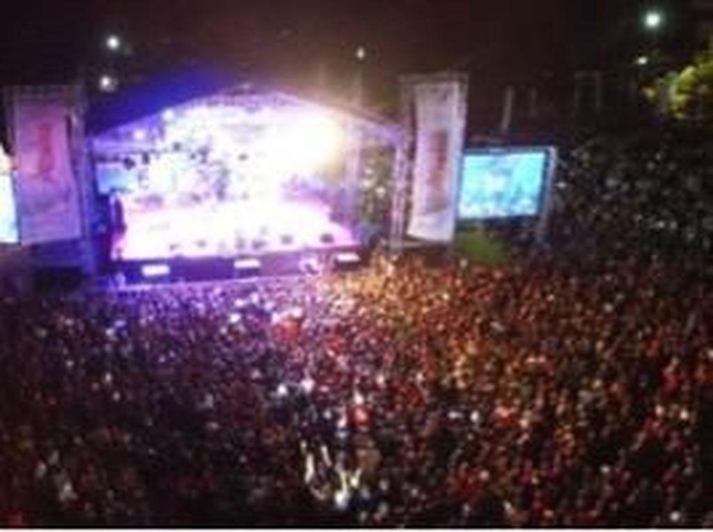 Judika Tutup Festival Crossborder, Pariwisata Atambua Kian Dikenal