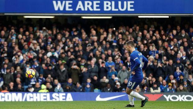 Tentang Penalti Panenka Hazard ke Gawang Newcastle