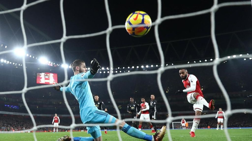 Olok-olokan untuk Arsenal Usai Takluk dari MU