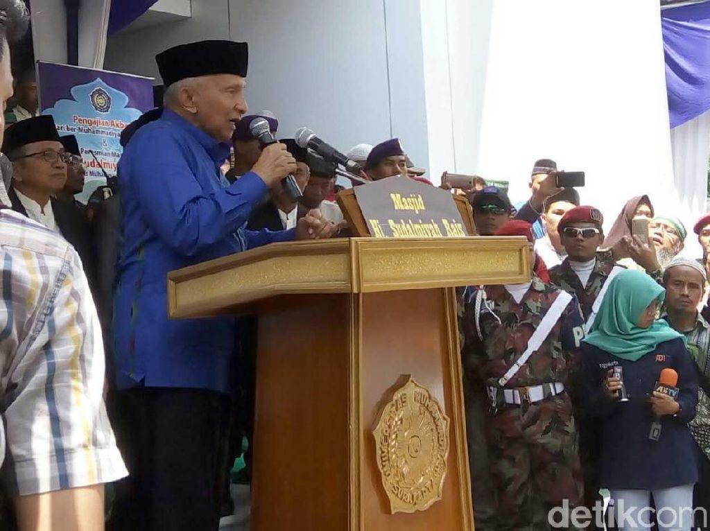 Duet Amien Rais-Prabowo Ingin Kalahkan Ganjar di Jateng