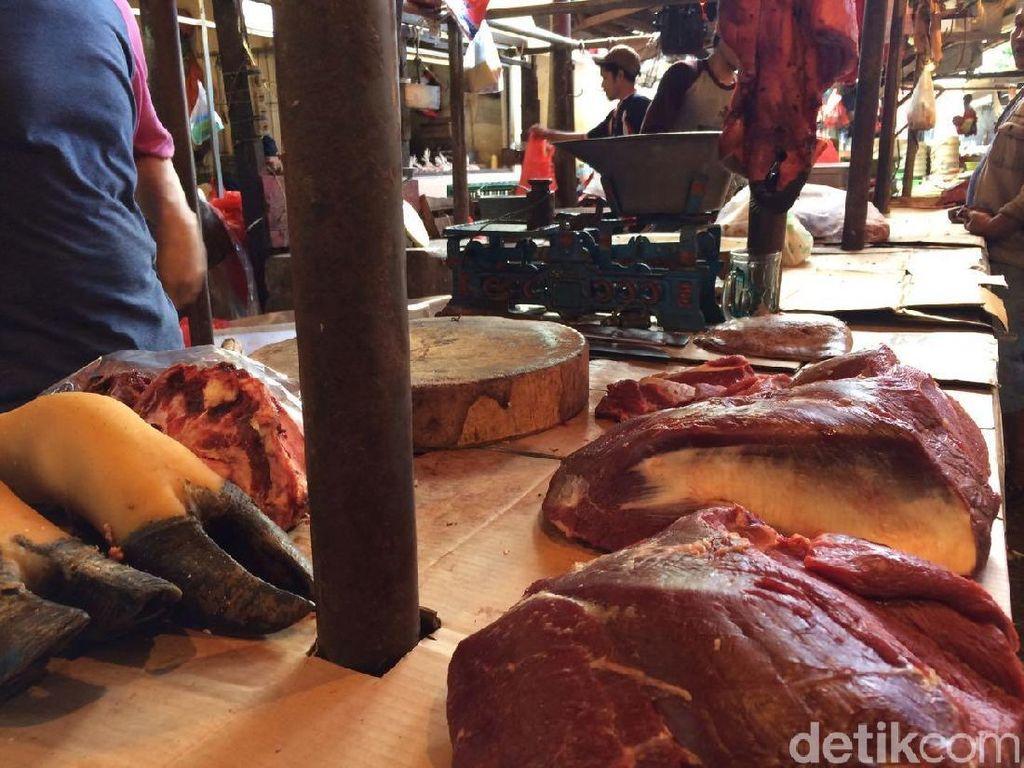 Masih Mahal, Daging Sapi Dijual Rp 120 Ribu/Kg
