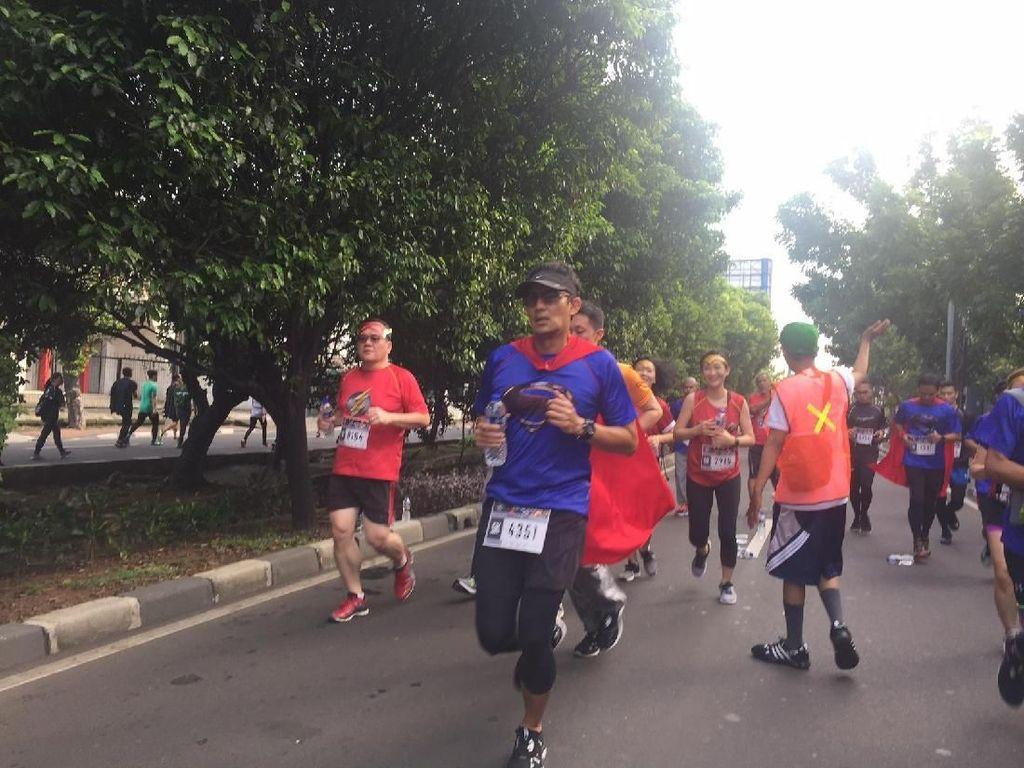 Saran Super Sandi Agar Napas Tidak Ngos-ngosan Saat Lari