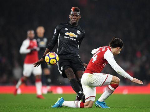 Soal Kartu Merah Pogba, Mourinho Singgung Insiden Lukaku-Koscielny