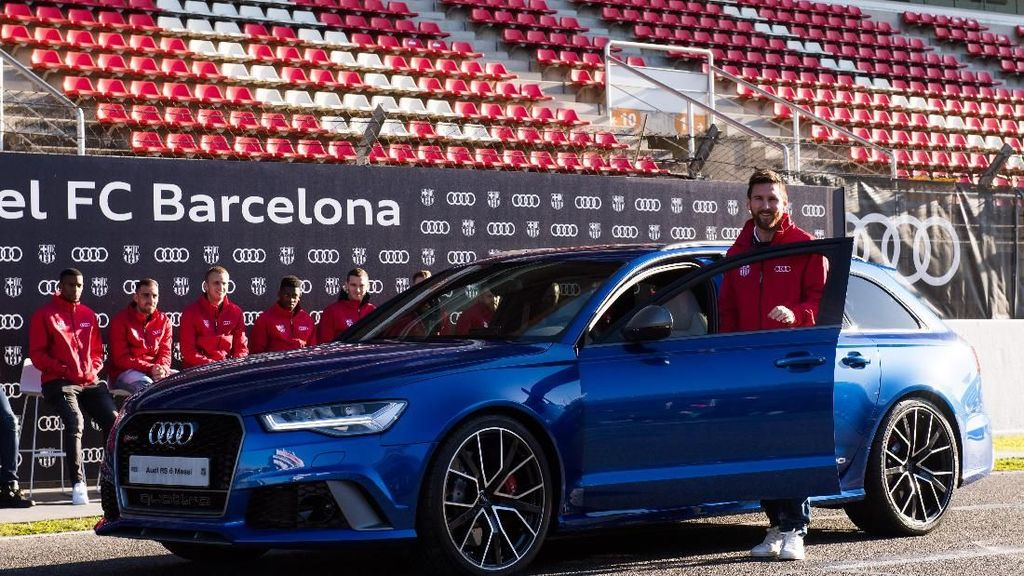 Koleksi Mobil Lionel Messi Senilai Rp 50 Miliar